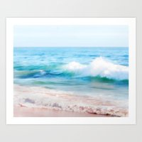 Aquamarine Dreams 1 Art Print