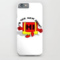 iPhone Cases featuring Hi I'm the new skinny by mailboxdisco
