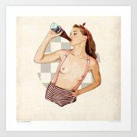 Miss Mississippi Art Print