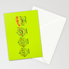 Lime emotions  Stationery Cards