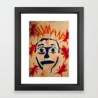 Humans and nature  Framed Art Print