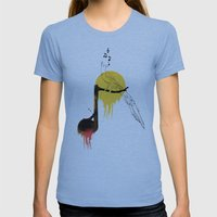 ADARNA Womens Fitted Tee Athletic Blue SMALL