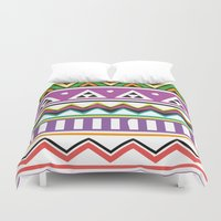 Colouful Aztec Duvet Cover