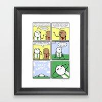 Antics #319 - Job Huntin… Framed Art Print