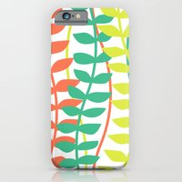 seagrass pattern - tropical iPhone 6 Slim Case