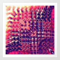 07-27-13 (Chandelier Gli… Art Print