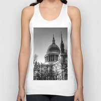 St Pauls, London Unisex Tank Top