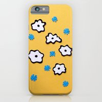 Dutch Flowers On Yellow iPhone 6 Slim Case
