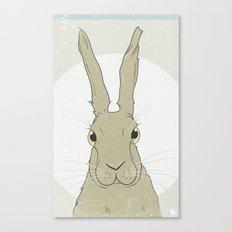 Golden Hare No.2 Canvas Print