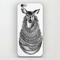 Feathered Deer.  iPhone & iPod Skin