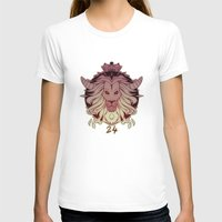 leo Womens Fitted Tee White SMALL