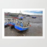 Fishing Fleet - Paddy's … Art Print