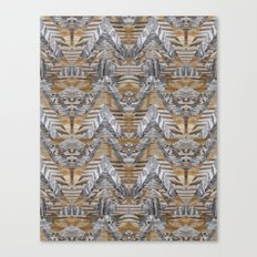 Wood Quilt 2 Canvas Print