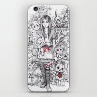 Wonderland Shattered iPhone & iPod Skin