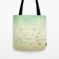 Graceful Flock Tote Bag