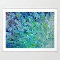 SEA SCALES - Beautiful O… Art Print