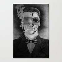 Smoking Canvas Print