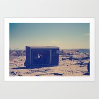 Art Print featuring broken by Falcon White