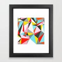 Mosaik Framed Art Print