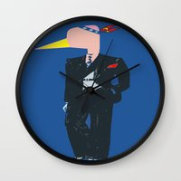 Chief Flaminggg Wall Clock