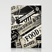 food Stationery Cards featuring FOOD by Vivian Fortunato