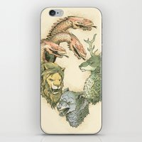 Fight For The Throne iPhone & iPod Skin