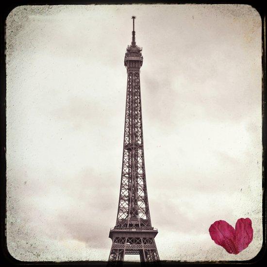 Paris, Je t'aime (Eiffel Tower) Art Print