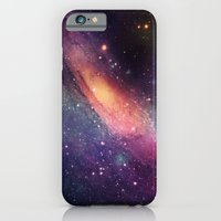 iPhone & iPod Case featuring Galaxy colorful by Msimioni