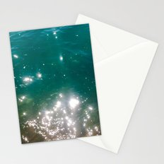 The color of the sea Stationery Cards