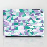 #103. JENNI (Abstract Stained Glass) iPad Case