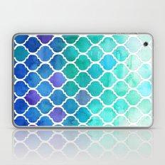 Emerald & Blue Marrakech Meander Laptop & iPad Skin