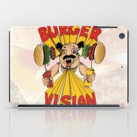 Burger Vision iPad Case