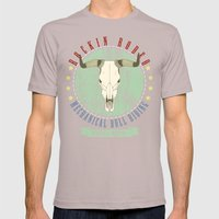 Cowgirls Wanted Mens Fitted Tee Cinder SMALL
