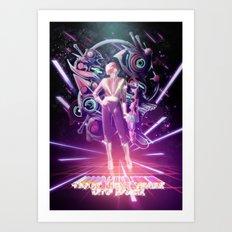 10000 Lightyears Into Space Art Print
