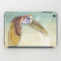 Barn Owl Labyrinth iPad Case