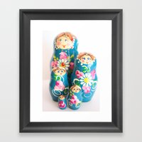 Matrioska Framed Art Print