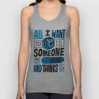 Making And Thinking Unisex Tank Top