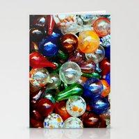 Glass Balls Stationery Cards