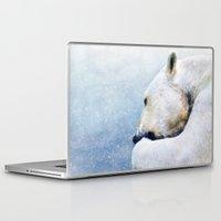 polar bear Laptop & iPad Skins featuring Polar Bear by ThePhotoGuyDarren
