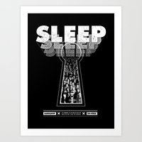 Sleep Art Print
