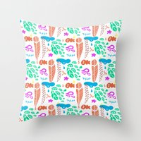 pattern I Throw Pillow
