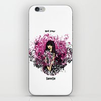 Not Your Sweetie iPhone & iPod Skin