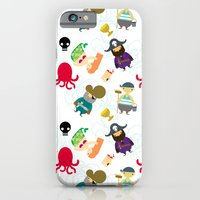 iPhone & iPod Case featuring the crew ( pattern version ) by serenita