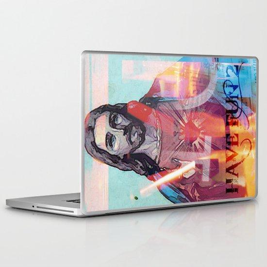 have fun 2 _  jesus Laptop & iPad Skin