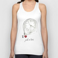 Just in time Unisex Tank Top