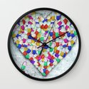 sik luv Wall Clock