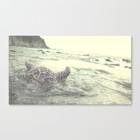 Into The Abyss  Canvas Print