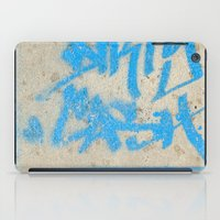 DIRTY CASH - TAGGING STREETART MIAMI by Jay Hops iPad Case