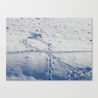 The Snow Giant Canvas Print
