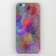 Electro Jellyfish Ball iPhone & iPod Skin